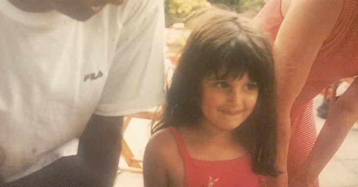 Аня Чалотра в детстве