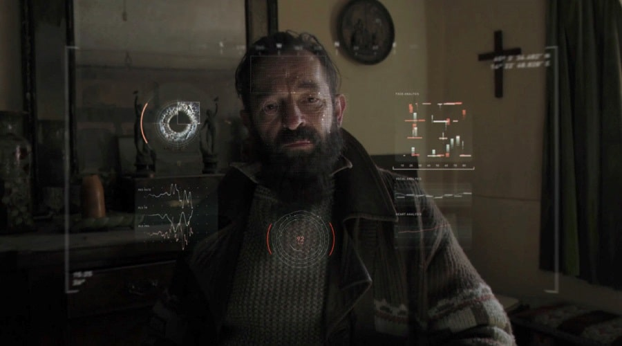 "Френсис Маджи в сериале ""Черное зеркало"""