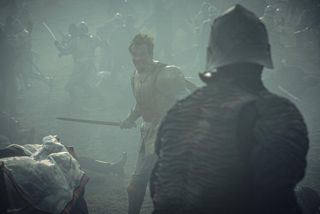 Король Эйст в бою