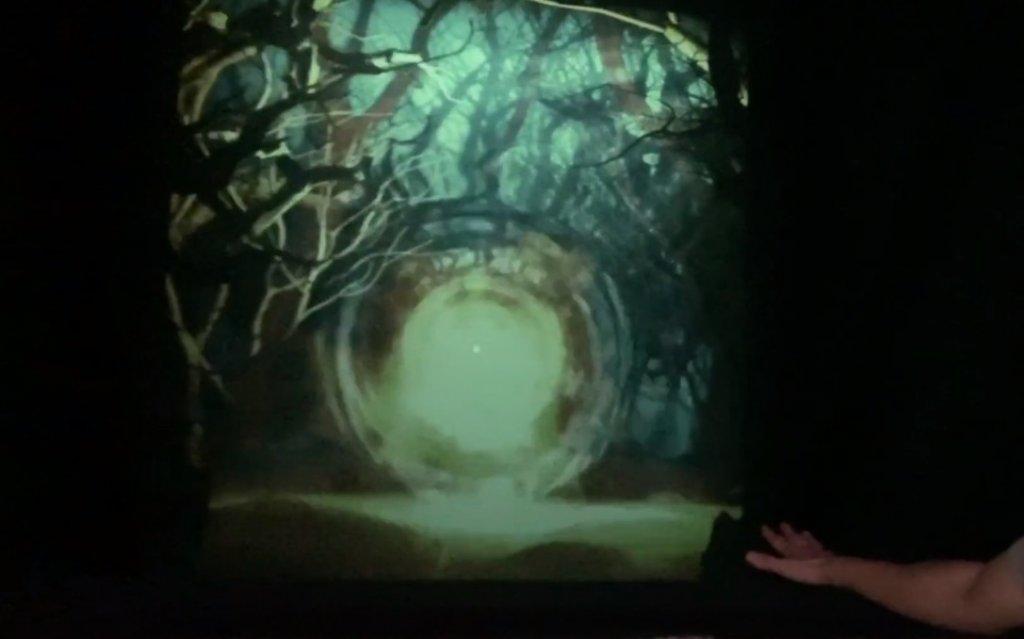 """Стенд """"Ведьмака"""" с использованием Kinect"""