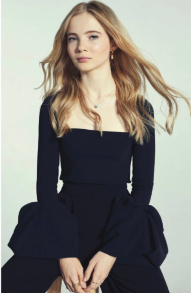 Фрейя Аллан - фото из журнала Episode