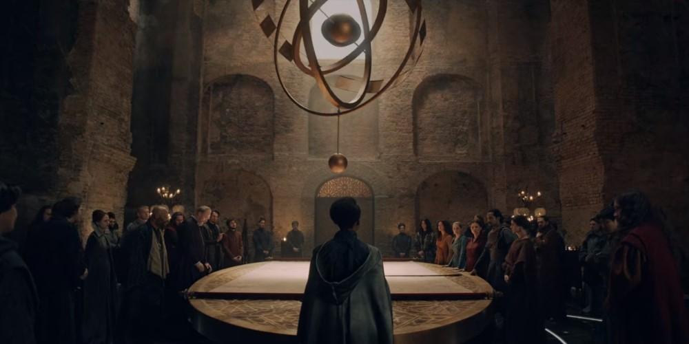 Совет Братства чародеев в Аретузе