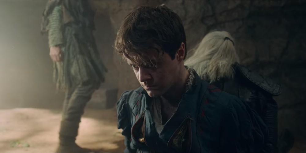 Лютик и Геральт в плену у эльфов