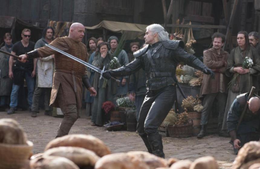 Изначальный вариант сцены боя в Блавикене