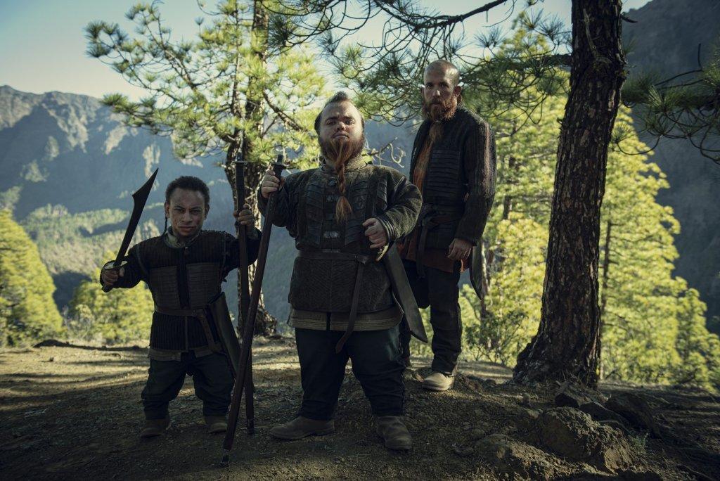 Янник Брасс (Каин Фрэнсис), Лукас Корто (Симеон Дайер) и Ярпен Зигрин (Джереми Кроуфорд). 6 серия.