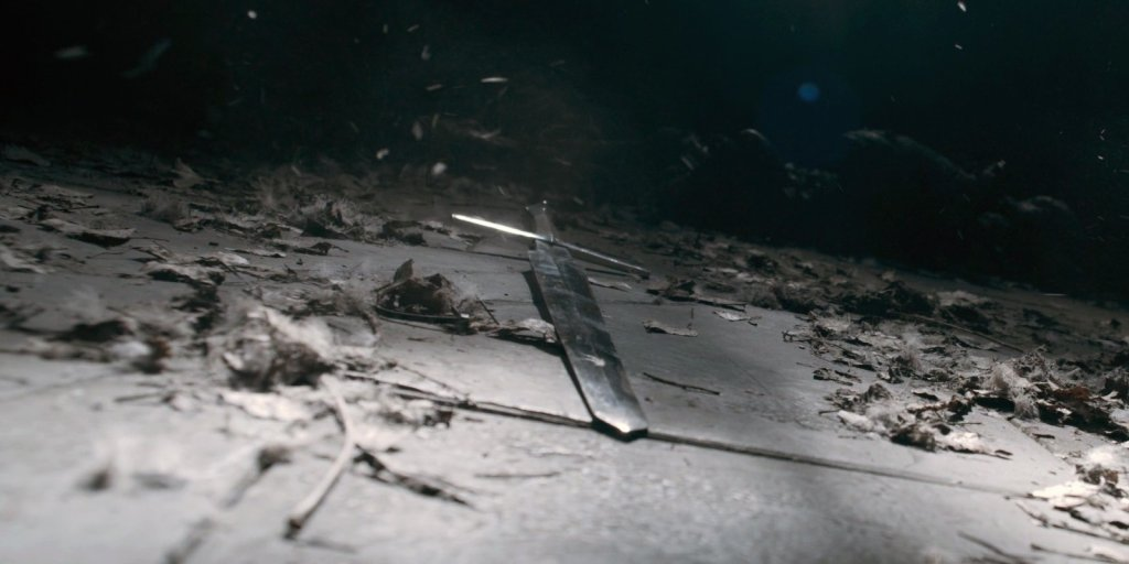 Серебряный меч Геральта