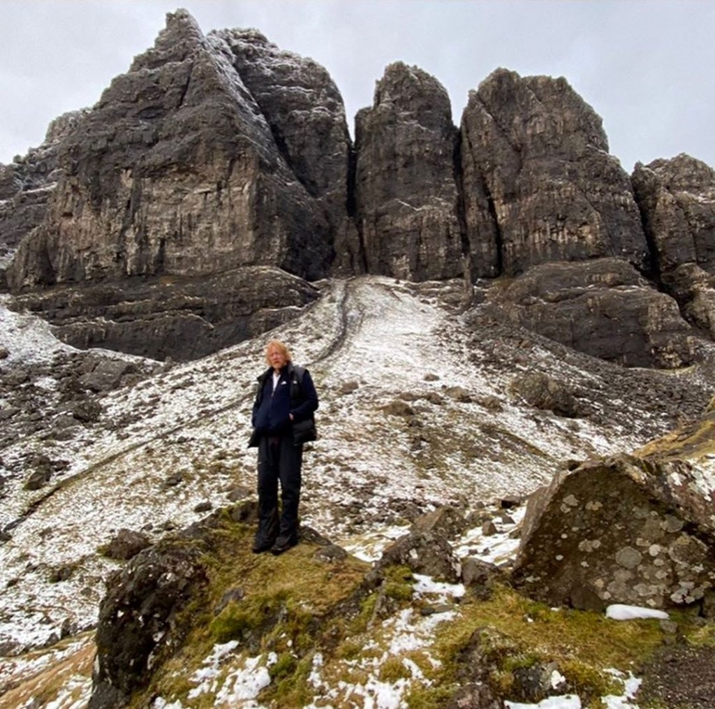"Скала ""The Old Man of Storr"" на острове Скай"