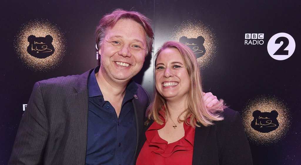 Шон Дули со своей женой Полли Кэмерон